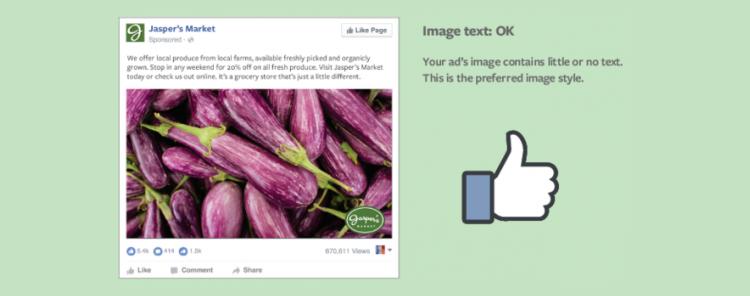 Facebook testira umik pravila največ 20 odstotkov besedila na sliki - Optimalna stopnja - iPROM Mnenja strokovnjakov - Maja Nučič