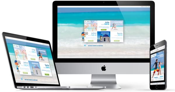 Kompas z dinamičnim oglaševanjem v prodajo poletnih aranžmajev - iPROM novice
