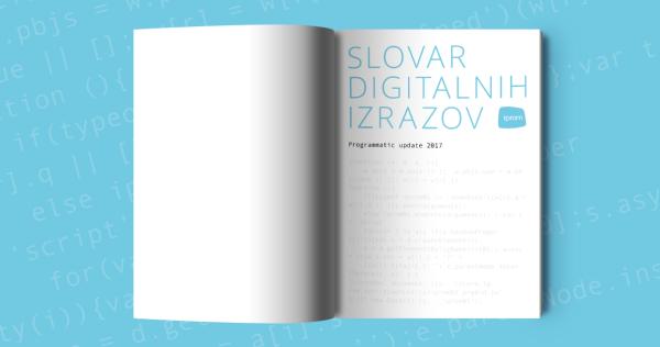 Izšla je nova tiskana različica iPROM-ovega Slovarja digitalnih izrazov - iPROM Novice