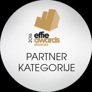 Effie značka 2016 - partner - iPROM
