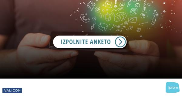 Povabilo k sodelovanju: iPROM in Valicon ponovno izvajata raziskavo o medijski potrošnji - iPROM - Novice