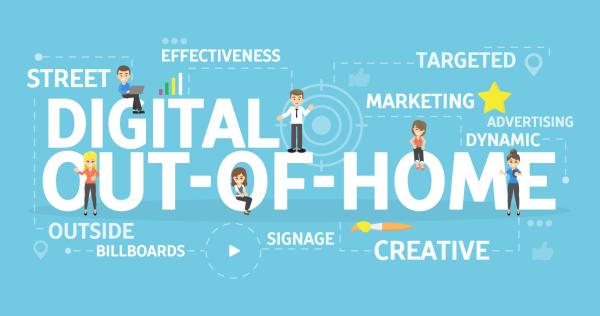 Digitalno zunanje oglaševanje je priporočljivo vključiti v strategije