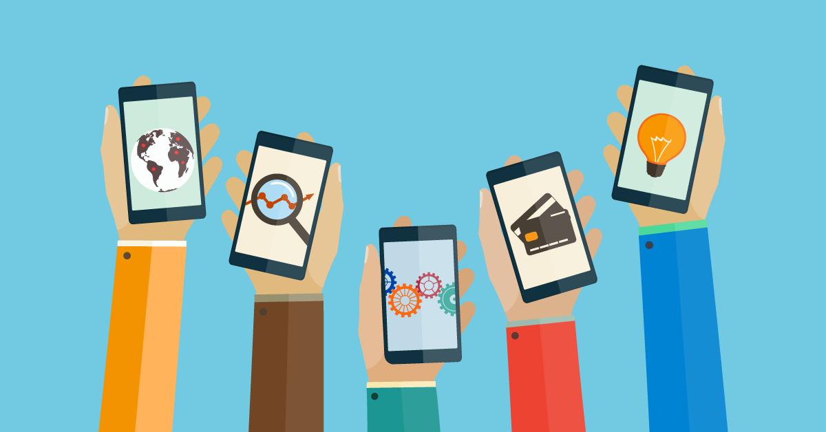 Mobilne aplikacije trgovcev na drobno združujejo fizično in digitalno