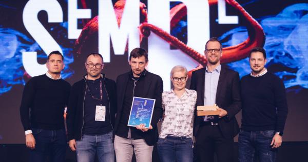 iPROM prejel zlatega semplerja za najboljšo uporabo podatkov - iPROM Novica