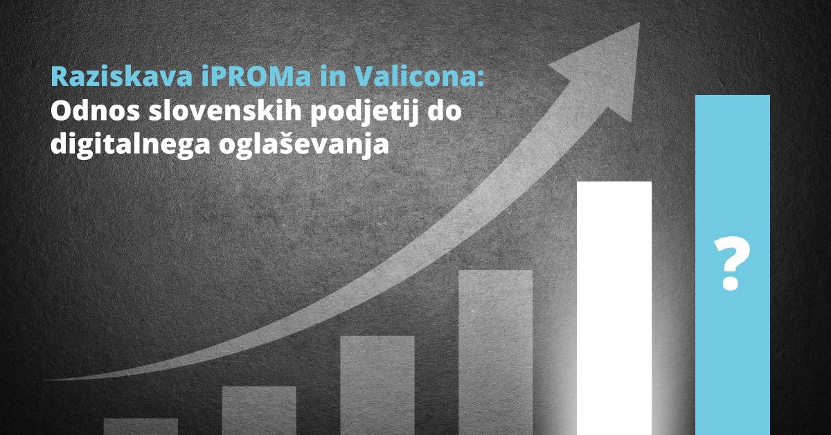 Raziskava iPROMa in Valicona: Odnos do digitalnega oglaševanja slovenskih podjetij - iPROM Novice