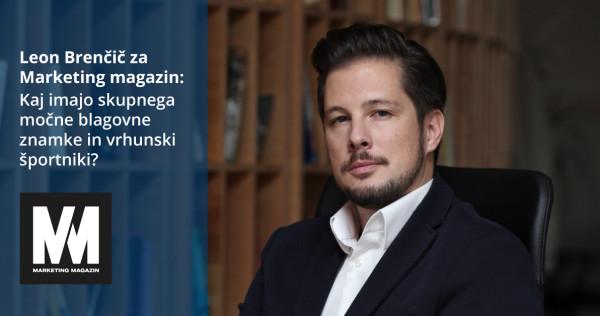 Leon Brenčič za Marketing magazin: Kaj imajo skupnega močne blagovne znamke in vrhunski sšportniki - iPROM - Novice iz sveta