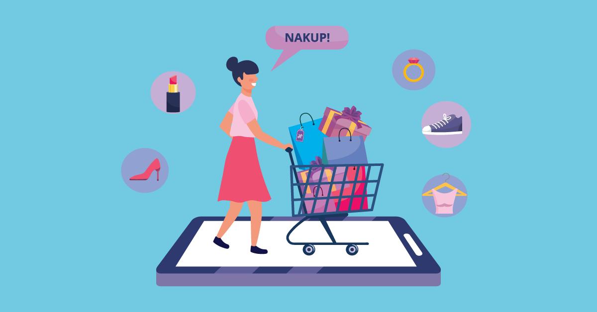 Spletna trgovina še vedno z nadpovprečnim deležem - iPROM Novice iz sveta