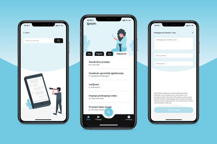 iPROMov slovar digitalnih izrazov zdaj kot mobilna aplikacija - iPROM - Press