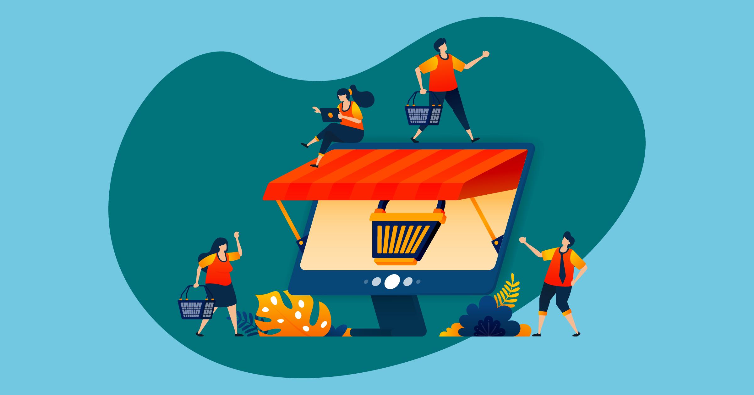 Spletna trgovina nadaljuje z dvomestno stopnjo rasti - iPROM - Novice iz sveta