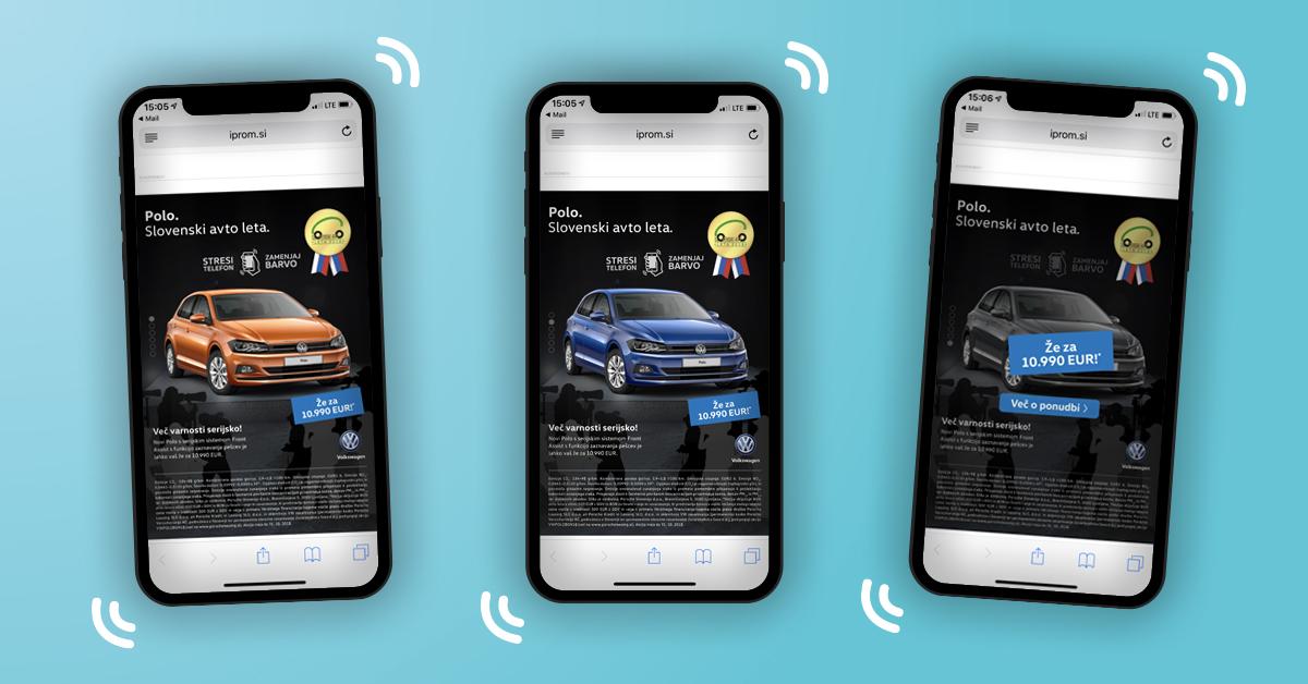 case studies - volkswagen shake ad - picture
